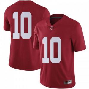 Men Alabama Crimson Tide Ale Kaho #10 College Crimson Limited Football Jersey 185254-371