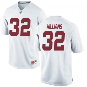 Men Alabama Crimson Tide C.J. Williams #32 College White Game Football Jersey 814596-134