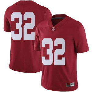 Men Alabama Crimson Tide C.J. Williams #32 College Crimson Limited Football Jersey 791678-433