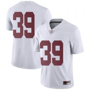 Men Alabama Crimson Tide Carson Ware #39 College White Limited Football Jersey 418809-907