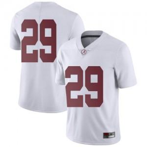 Men Alabama Crimson Tide DeMarcco Hellams #29 College White Limited Football Jersey 285603-428