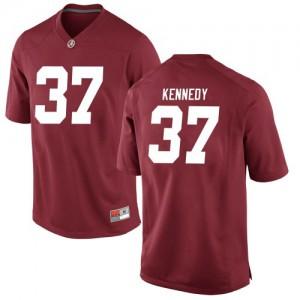 Men Alabama Crimson Tide Demouy Kennedy #37 College Crimson Game Football Jersey 733349-986