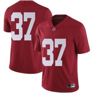 Men Alabama Crimson Tide Demouy Kennedy #37 College Crimson Limited Football Jersey 710727-117