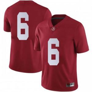 Men Alabama Crimson Tide Devonta Smith #6 College Crimson Limited Football Jersey 590641-353