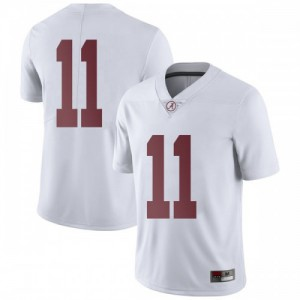 Men Alabama Crimson Tide Henry Ruggs III #11 College White Limited Football Jersey 952222-455