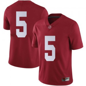 Men Alabama Crimson Tide Jalyn Armour-Davis #5 College Crimson Limited Football Jersey 192544-416