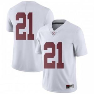 Men Alabama Crimson Tide Jared Mayden #21 College White Limited Football Jersey 665424-937