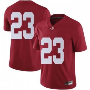 Men Alabama Crimson Tide Jarez Parks #23 College Crimson Limited Football Jersey 868033-800