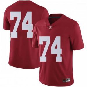 Men Alabama Crimson Tide Jedrick Wills Jr. #74 College Crimson Limited Football Jersey 942201-248