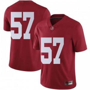 Men Alabama Crimson Tide Joe Donald #57 College Crimson Limited Football Jersey 356142-301