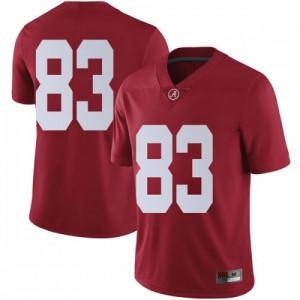 Men Alabama Crimson Tide John Parker #83 College Crimson Limited Football Jersey 875387-362
