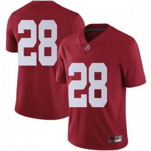 Men Alabama Crimson Tide Josh Jobe #28 College Crimson Limited Football Jersey 203650-369