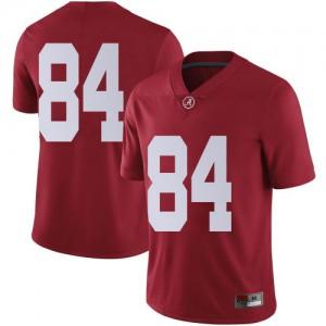 Men Alabama Crimson Tide Joshua Lanier #84 College Crimson Limited Football Jersey 192080-478
