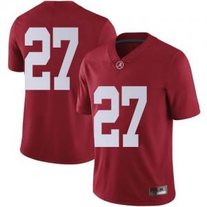 Men Alabama Crimson Tide Joshua Robinson #27 College Crimson Limited Football Jersey 194957-639