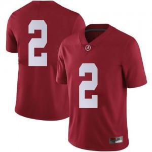 Men Alabama Crimson Tide Keilan Robinson #2 College Crimson Limited Football Jersey 350189-747