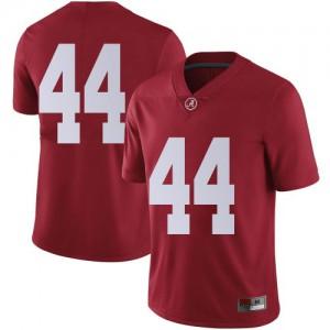 Men Alabama Crimson Tide Kevin Harris II #44 College Crimson Limited Football Jersey 722274-688