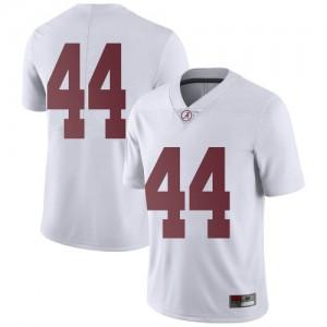 Men Alabama Crimson Tide Kevin Harris II #44 College White Limited Football Jersey 846630-955