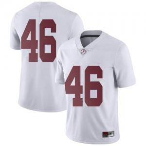 Men Alabama Crimson Tide Melvin Billingsley #46 College White Limited Football Jersey 592968-601