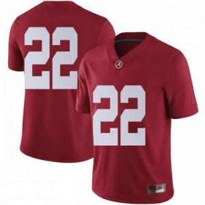 Men Alabama Crimson Tide Najee Harris #22 College Crimson Limited Football Jersey 717255-404