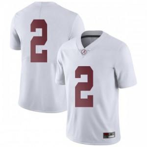 Men Alabama Crimson Tide Patrick Surtain II #2 College White Limited Football Jersey 111545-127