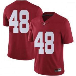 Men Alabama Crimson Tide Phidarian Mathis #48 College Crimson Limited Football Jersey 710125-251