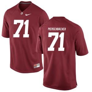 Men Alabama Crimson Tide Ross Pierschbacher #71 College Crimson Game Football Jersey 564719-930