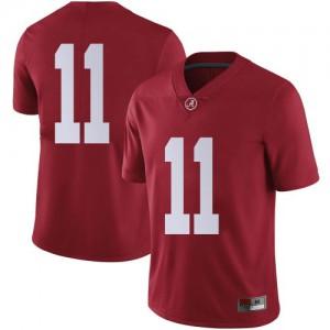 Men Alabama Crimson Tide Scooby Carter #11 College Crimson Limited Football Jersey 166118-192