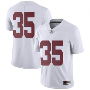 Men Alabama Crimson Tide Shane Lee #35 College White Limited Football Jersey 737032-977