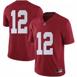 Men Alabama Crimson Tide Skyler DeLong #12 College Crimson Limited Football Jersey 697495-979