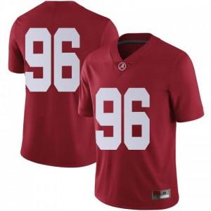 Men Alabama Crimson Tide Taylor Wilson #96 College Crimson Limited Football Jersey 701189-750
