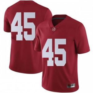 Men Alabama Crimson Tide Thomas Fletcher #45 College Crimson Limited Football Jersey 238006-656
