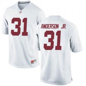 Men Alabama Crimson Tide Will Anderson Jr. #31 College White Game Football Jersey 718742-194