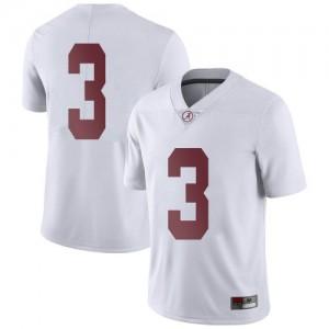Men Alabama Crimson Tide Xavier Williams #3 College White Limited Football Jersey 762940-980
