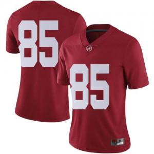 Women Alabama Crimson Tide Charlie Scott #85 College Crimson Limited Football Jersey 557049-471