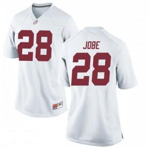 Women Alabama Crimson Tide Josh Jobe #28 College White Replica Football Jersey 837742-747