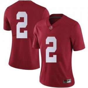 Women Alabama Crimson Tide Keilan Robinson #2 College Crimson Limited Football Jersey 419454-479