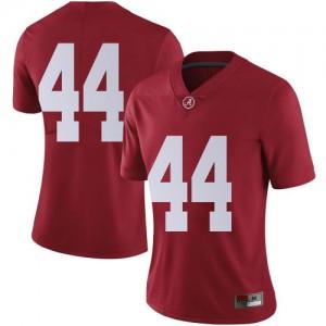 Women Alabama Crimson Tide Kevin Harris II #44 College Crimson Limited Football Jersey 874467-485