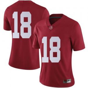 Women Alabama Crimson Tide Labryan Ray #18 College Crimson Limited Football Jersey 790282-429