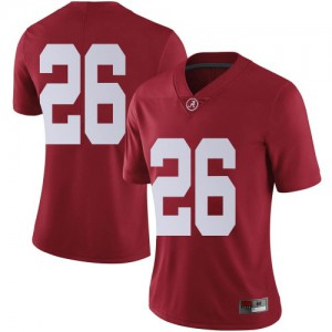 Women Alabama Crimson Tide Marcus Banks #26 College Crimson Limited Football Jersey 674903-842