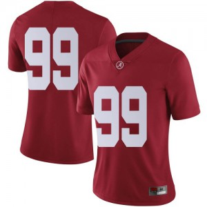 Women Alabama Crimson Tide Ty Perine #99 College Crimson Limited Football Jersey 712861-508