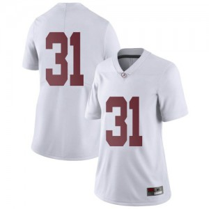 Women Alabama Crimson Tide Will Anderson Jr. #31 College White Limited Football Jersey 976043-620