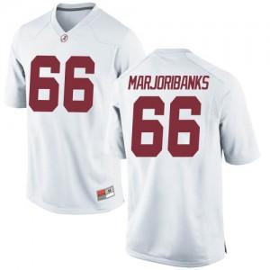 Youth Alabama Crimson Tide Alec Marjoribanks #66 College White Game Football Jersey 773375-640