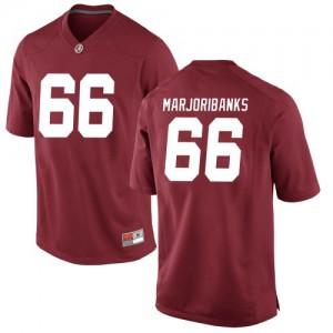 Youth Alabama Crimson Tide Alec Marjoribanks #66 College Crimson Replica Football Jersey 913518-609
