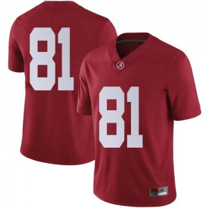 Youth Alabama Crimson Tide Cameron Latu #81 College Crimson Limited Football Jersey 136405-327