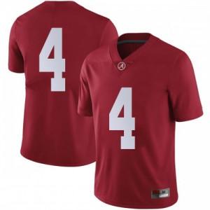 Youth Alabama Crimson Tide Christopher Allen #4 College Crimson Limited Football Jersey 216656-783