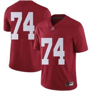 Youth Alabama Crimson Tide Damieon George Jr. #74 College Crimson Limited Football Jersey 993796-746