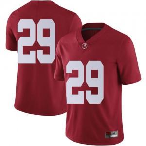 Youth Alabama Crimson Tide DeMarcco Hellams #29 College Crimson Limited Football Jersey 442488-532