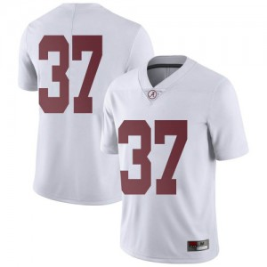 Youth Alabama Crimson Tide Demouy Kennedy #37 College White Limited Football Jersey 281137-848
