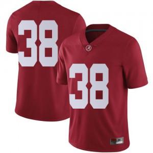 Youth Alabama Crimson Tide Eric Poellnitz #38 College Crimson Limited Football Jersey 619101-700