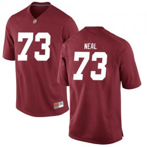 Youth Alabama Crimson Tide Evan Neal #73 College Crimson Replica Football Jersey 552910-521